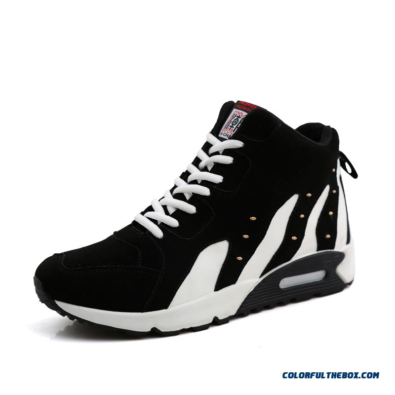 New Arrival Simple And Stylish Casual Antiskid Men Basketball Shoes