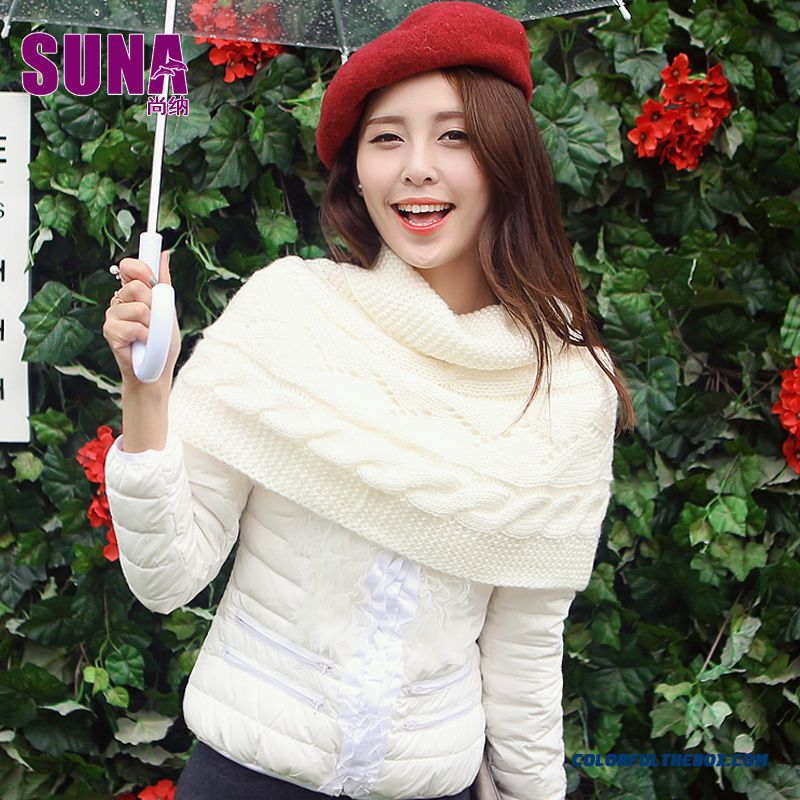 New Arrival Winter Women Coats Lace Slim Short Fashion Sweet Down Jacket