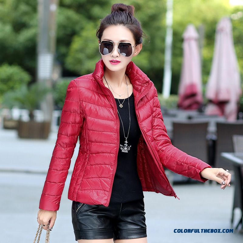 New Arrival Winter Women Coats Red Green Slim Plus Size Short Free Shipping
