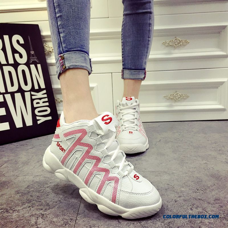 New Arrival Women Casual Shoes Thick Bottom Within The Higher Breathable - more images 4