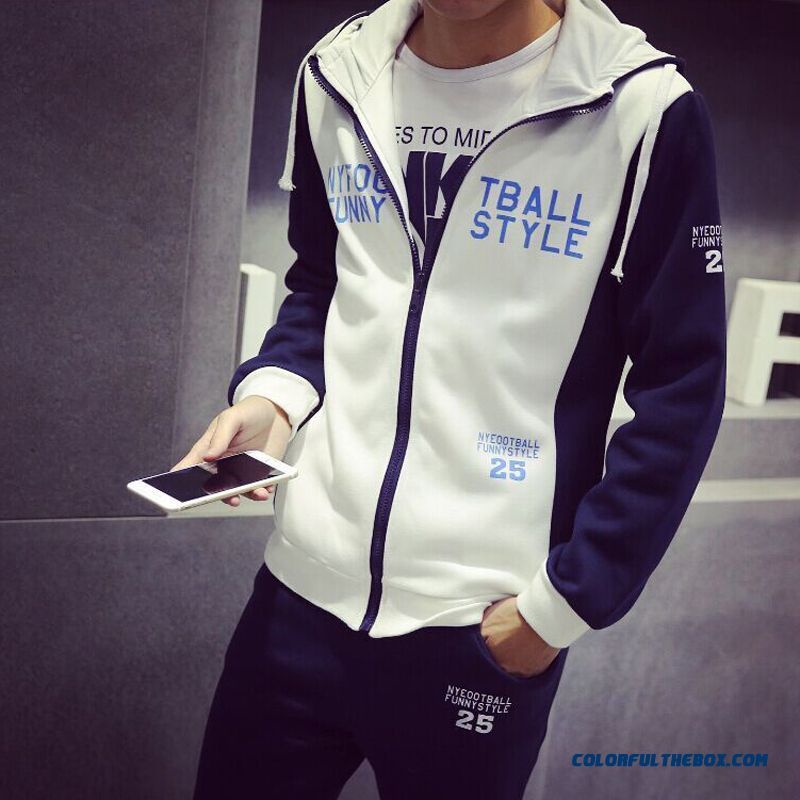 New Autumn And Winter Brand Fashion Men Sport Jacket Fertilizer Increase Code Mode