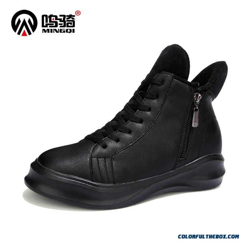 New Autumn And Winter Men Cotton Shoes Warm Casual Sport Boots Tide