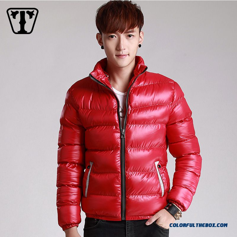 New Autumn Winter Hot Selling Tide Thicken Blue Red Black Large Size Coats Young - more images 3