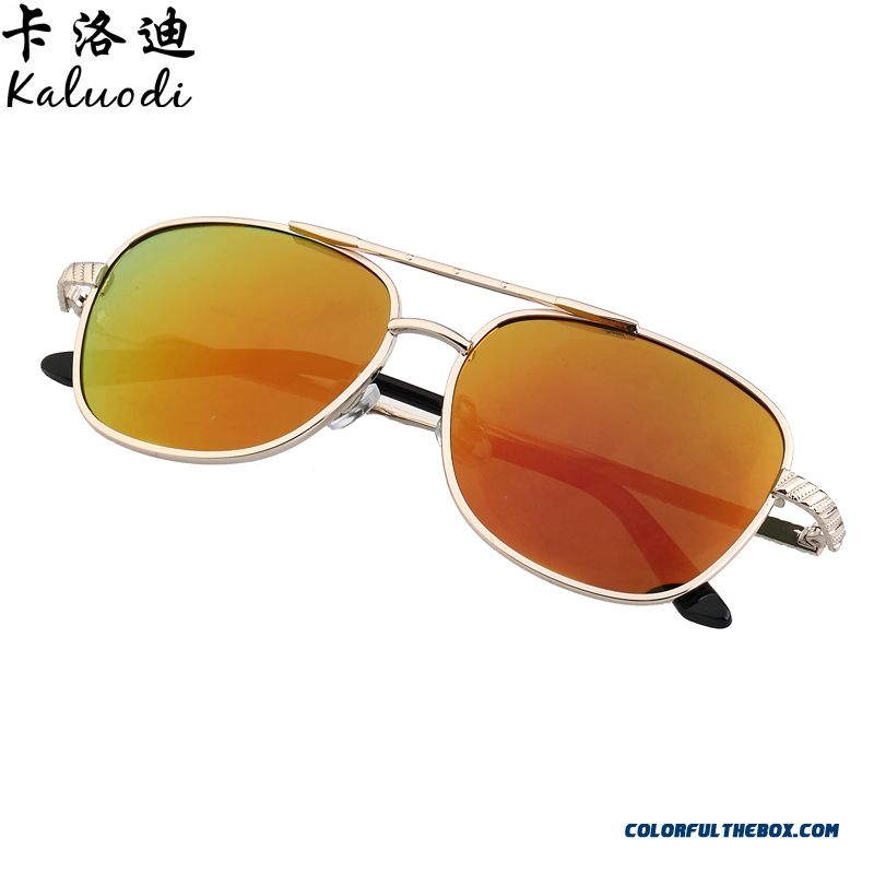 8f1957db8b70 ... New Boys And Girls Kids' Sunglasses Polarizer Colorful Metal Reflective  Sunglasses Dark Glasses Fashionable