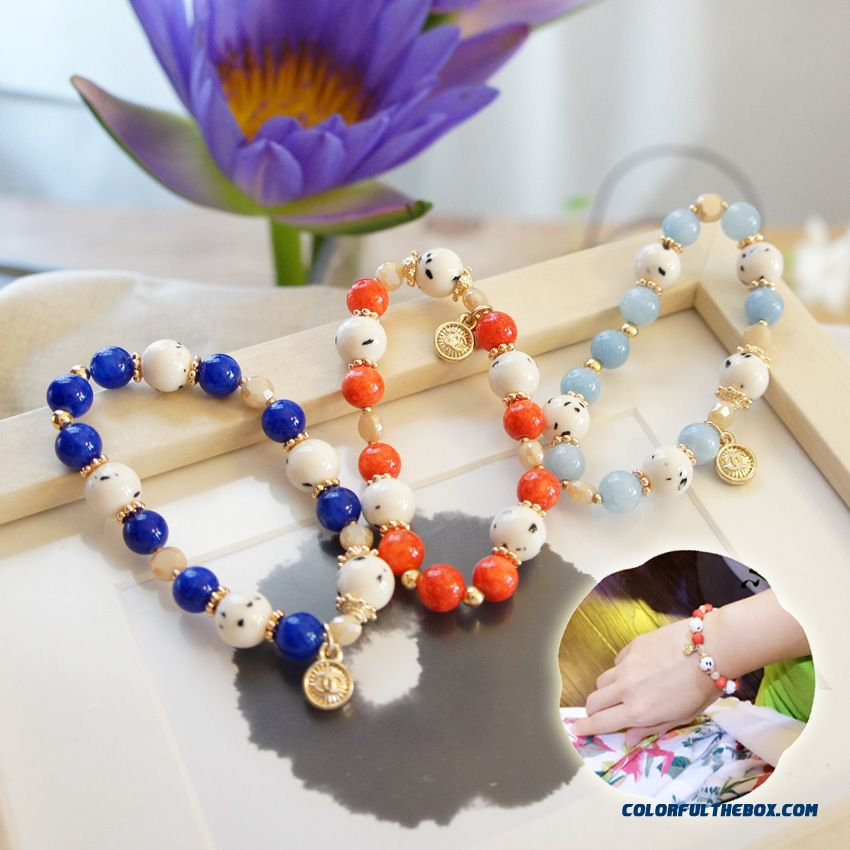 New Bracelets & Bacgles Natural Stone Bracelet Women Jewelry Fashion