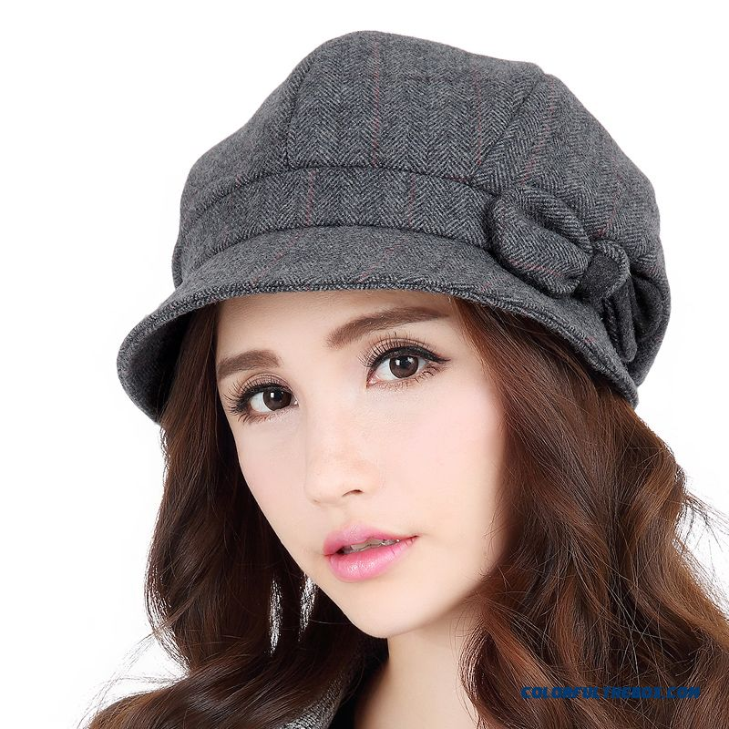a2300d0f37b13 New Brand Headwear Hataccessory Autumn And Winter Stylish Woolen Beret  Fashionable Women s Hats