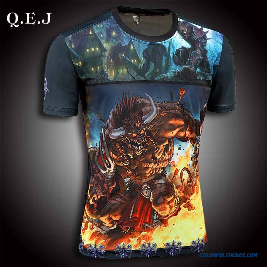 New Brand Q.e.j 2016 Men Designer T Shirt Casual Quick Dry Slim Fit Running Sport Shirts Bts Tops & Tees Large Size