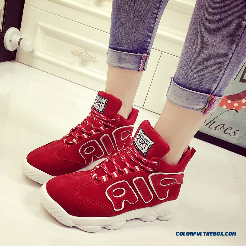 New Breathable Spell Color Flat Women Casual Shoes Free Shipping - more images 1