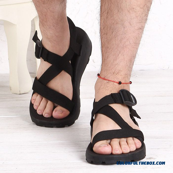 New Breathable Sports And Casual Tide Large Size Open Toe Men's Sandals