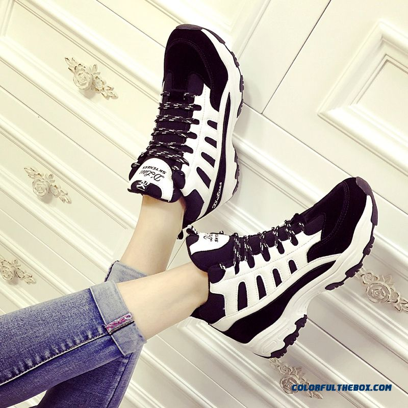 New Comfortable Women Casual Shoes Thick Bottom Free Shipping - more images 3