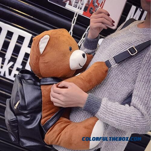 New Cute Stuffed Bear Papa Bear Backpack Special Offer For Women