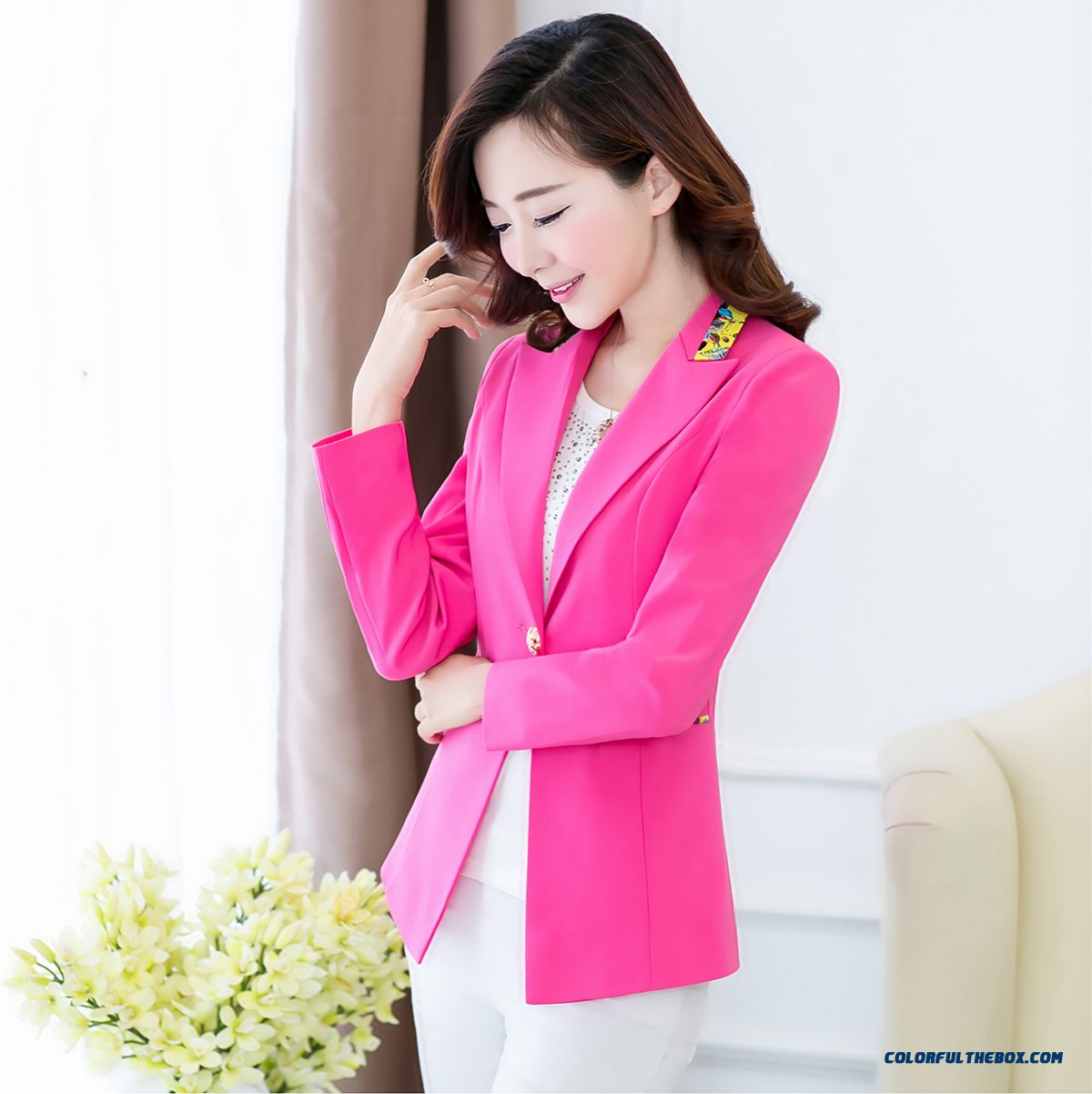 New Designed Exclusively Women Long-sleeved Suit Coat Women