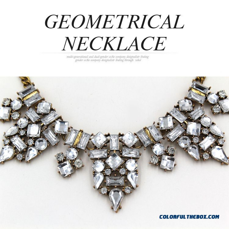 New Designed Specifically For Fashionable Women Geometric Necklace Jewelry