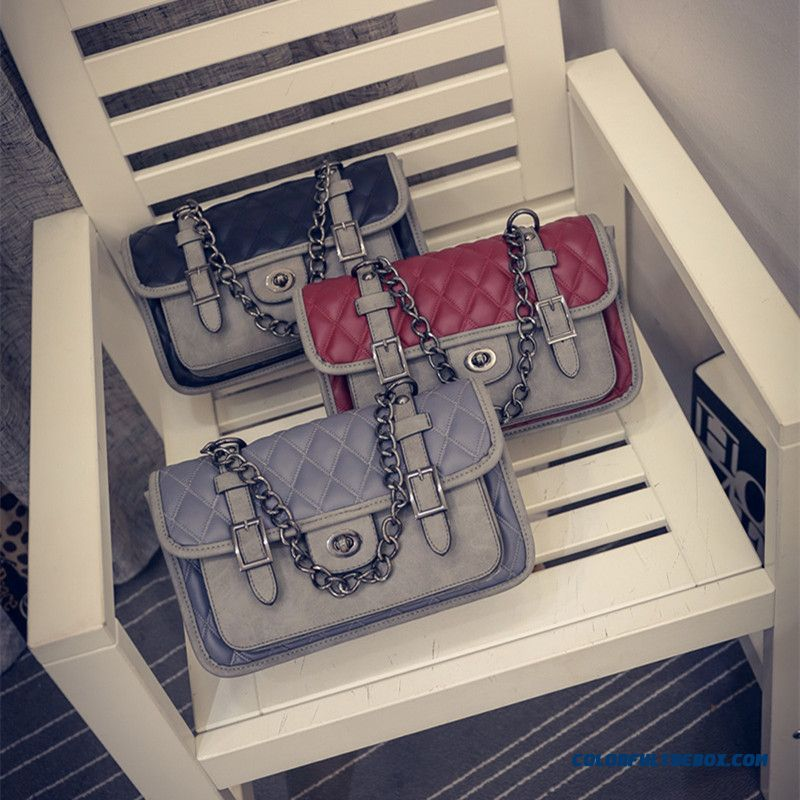 New Fashion Diamond Lattice Chain Women Crossbody Bag Messenger Bags