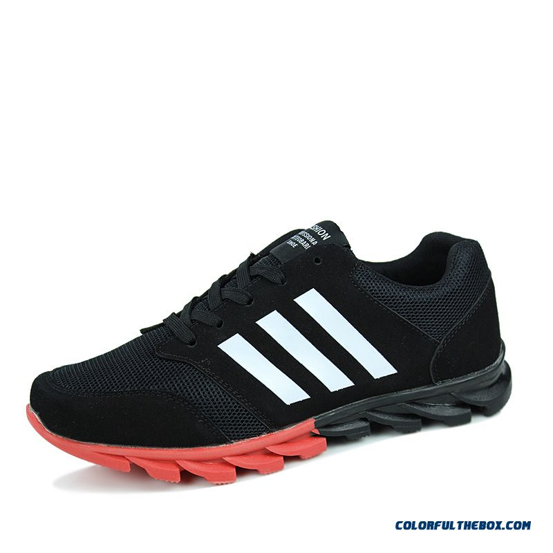 New Fashion Mesh Sports Breathable Antiskid Men's Running Shoes