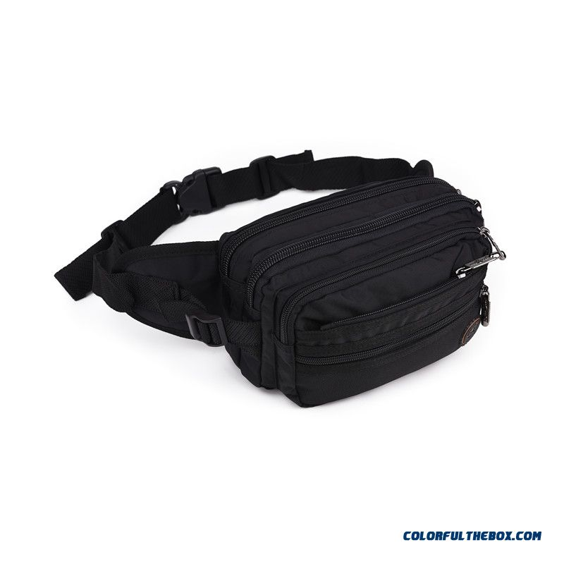New Fashion Waist Packs Outdoor Multilayer Waist Packs Travel Large Capacity Waist Packs Of Men