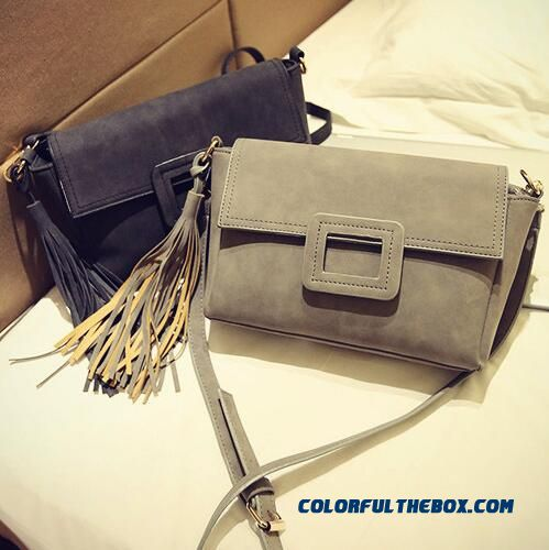 New Fringed Crossbody Women Bags European And American Style