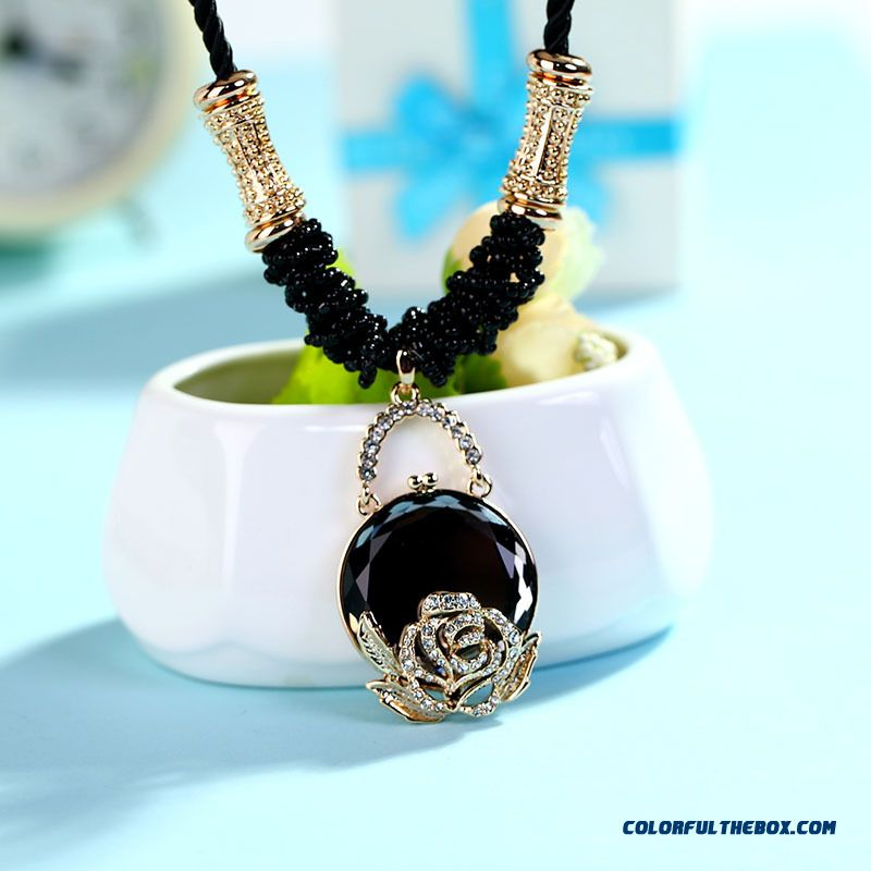 Cheap new high end jewelry pendant retro korean style for High end fashion jewelry