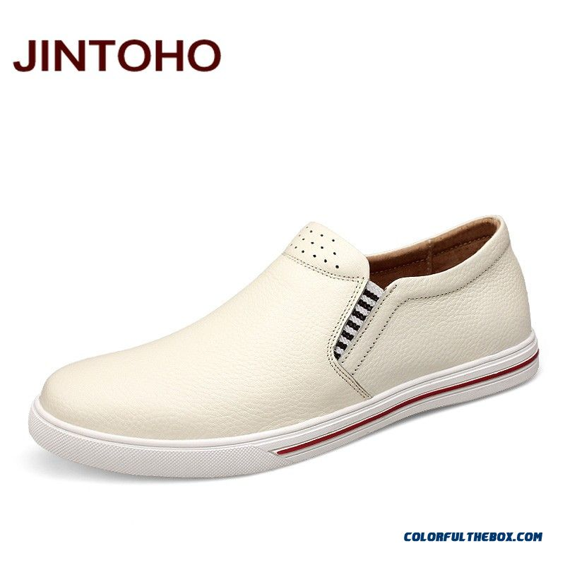 ... New Hot Sale Casual Men Shoes Slip On Genuine Leather Men Loafers Male  Shoes Italian Mens 97256034c