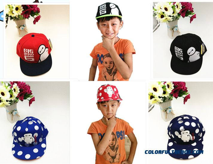 New Kids Hip-hop Caps Children Cap Super Marine Bpys Kids Sunscreen Hip-hop Flat-brimmed Hat