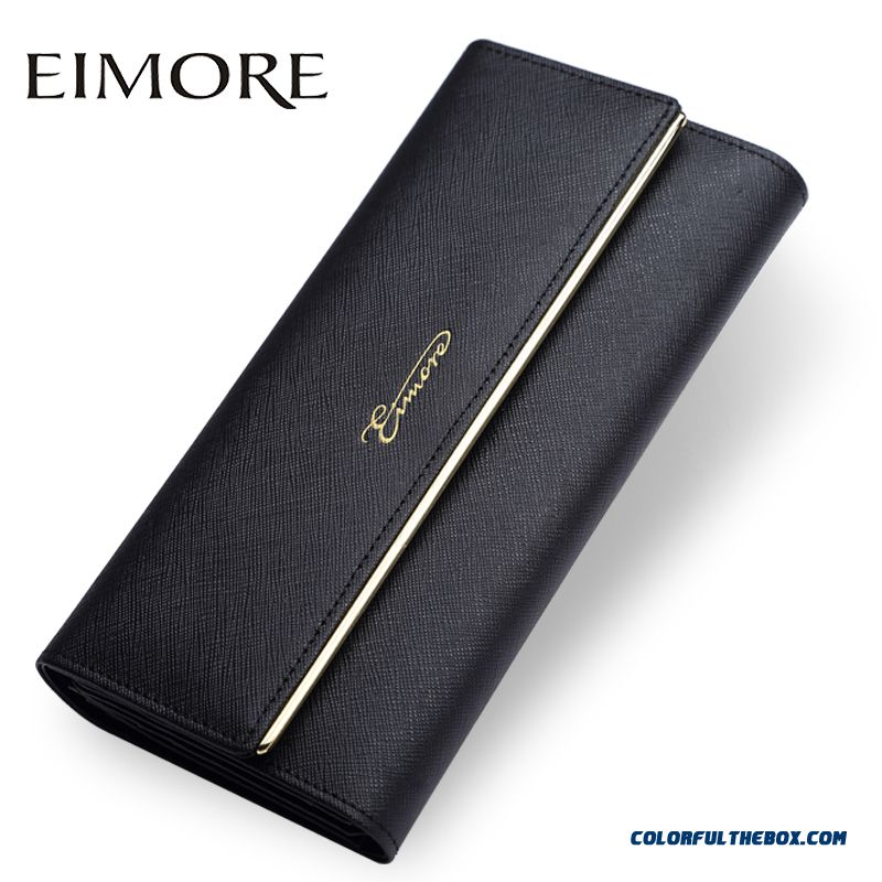 ca59d609e6db7 Cheap New Lady Long Section Of Thin Wallet Simple European And American Ladies  Holding Bags Hasp Women Models Wallet Sale Online