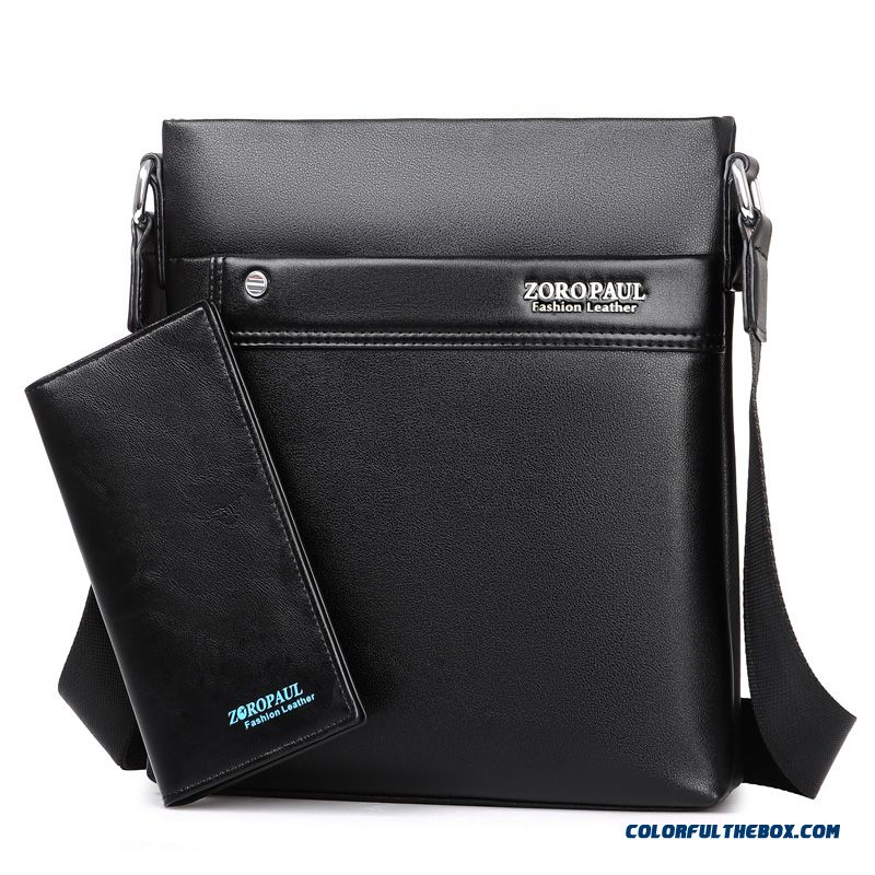 New Multifunctional Men's Fashion Business Briefcase Bag Casual Vertical Style