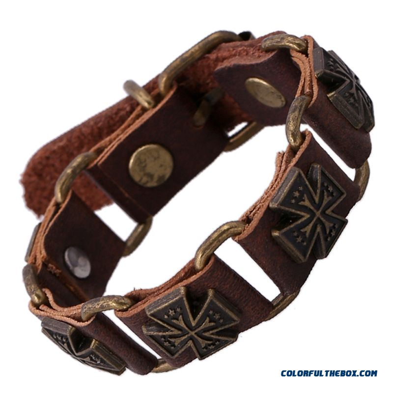New Products Specially Designed Cowhide Bracelet First Layer Of Leather Women Jewelry
