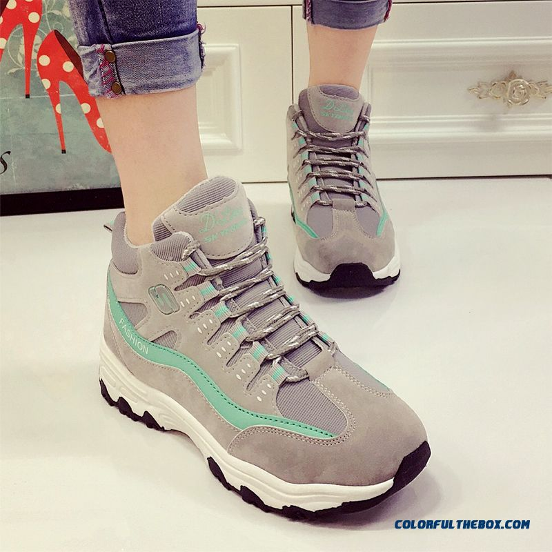 New Spell Color With Thick Bottom Sports Women Casual Shoes