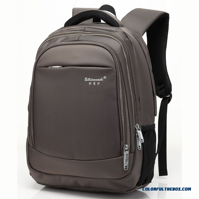 New Style Elderly Backpack European And American Business Style Backpack Laptop Shoulder Bag Men