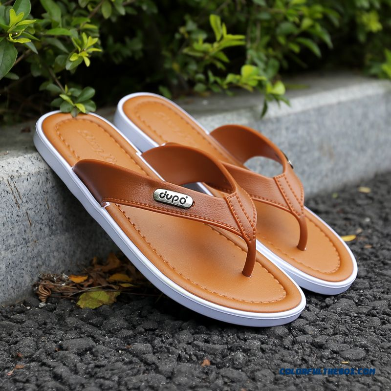 New Summer Men's New Summer Men's Slippers Casual Breathable Slippers