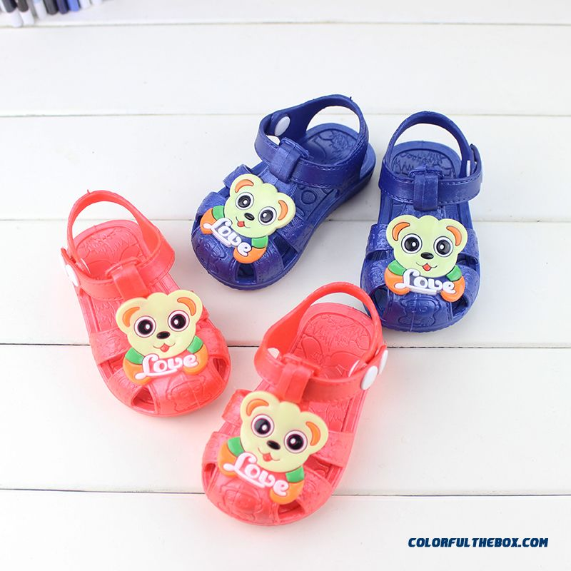 36a7f610c5b Cheap New Summer Sandals Girls Baby 0-1-2-3 Year-old Toddler Shoes Soft  Outsole Shoes Sale Online