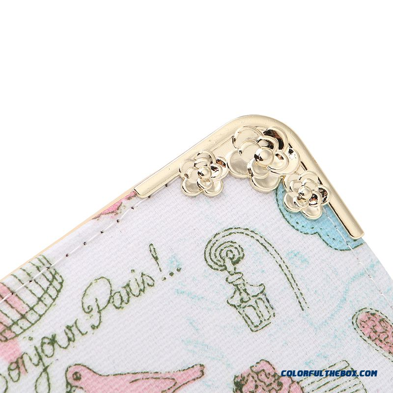 New Version Zipper Printed Clutch Women's Wallet Long Tide Free Shipping - more images 2