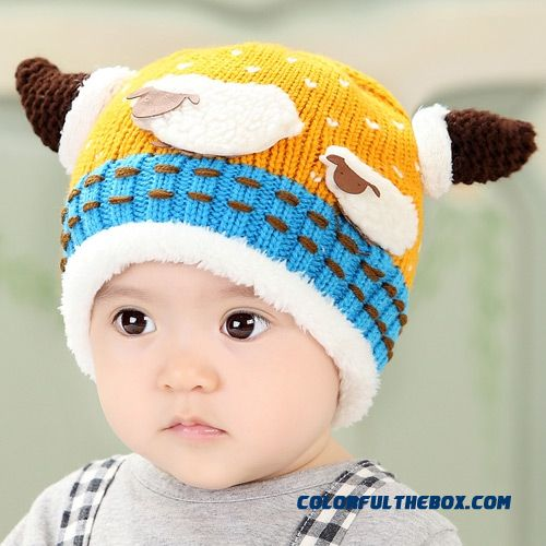Cheap New Winter Infant Baby Boys And Girls Kids Knit Cap Cute Cartoon  Sheep Horns Hats Wool And Cashmere Thick Sale Online 18caf5173ad8