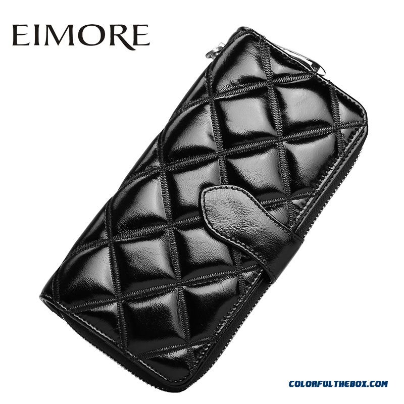 New Women Long Section Of Women Models Fashion Leather Wallet Holding Large Capacity Zipper Hasp Bill Clip Bags