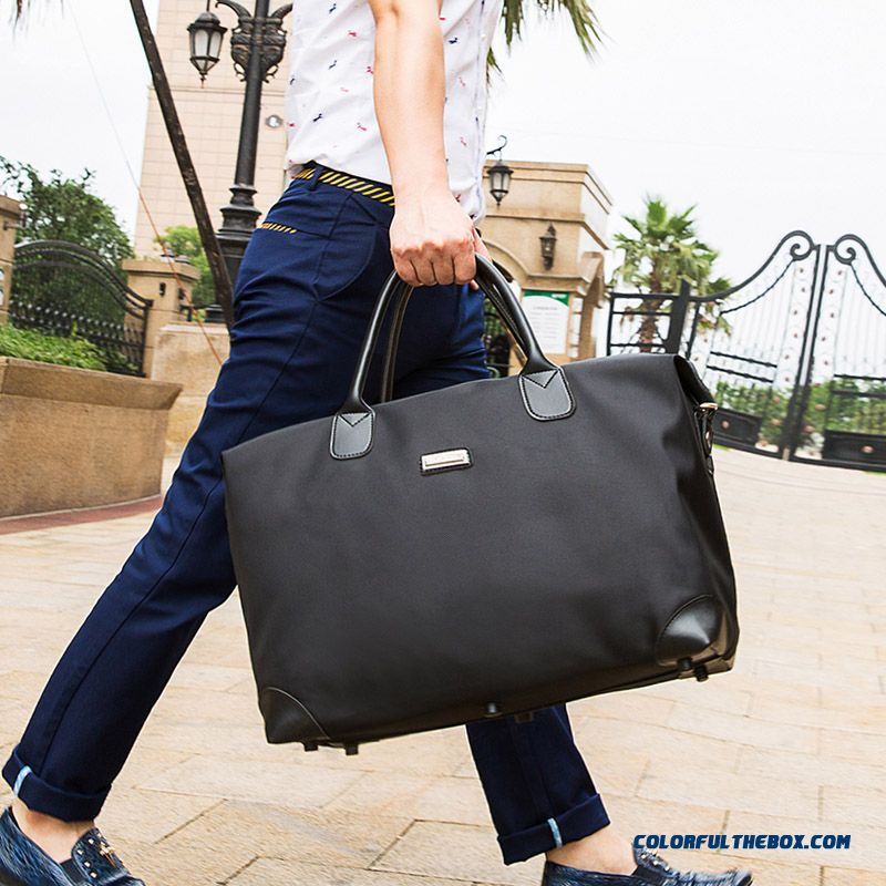 Newly Arrived Large Capacity Portable Waterproof Shoulder Bag Luggage  Travel Bag For Business Men And Women ... a113d8f89a616