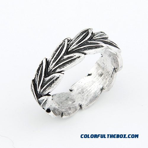 Our Small Fashion Jewelry Bohemia Classical Leaves Personality Ring F109 - more images 4