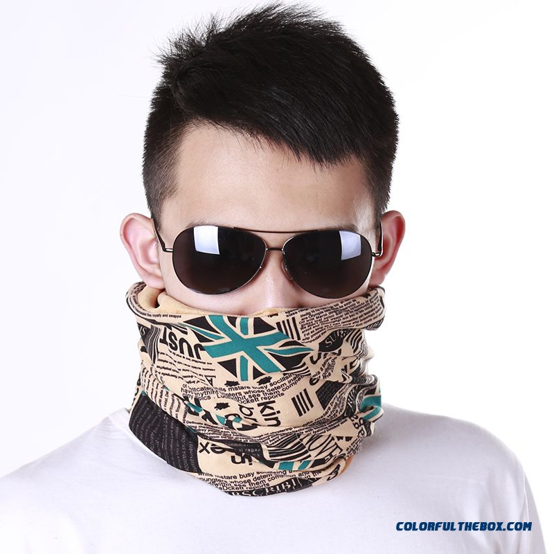 Outdoor Designed Specifically For Men Short Scarves Cotton Cap Warm Men's Neck Sets Free Shipping