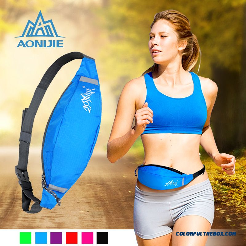 Outdoor Running Sport Waist Packs Women And Men Travel Anti-theft Next To The Skin Waist Packs