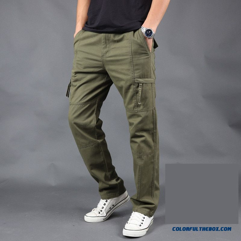 Pants Male Camo Jogger Casual Plus Size Cotton Trousers Multi Pocket Military Style Army Camouflage Men's Cargo Pants