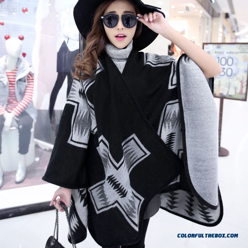 Popular In Europe And America Women Accessories Ethnic Style Thickening Bohemia Style Scarves