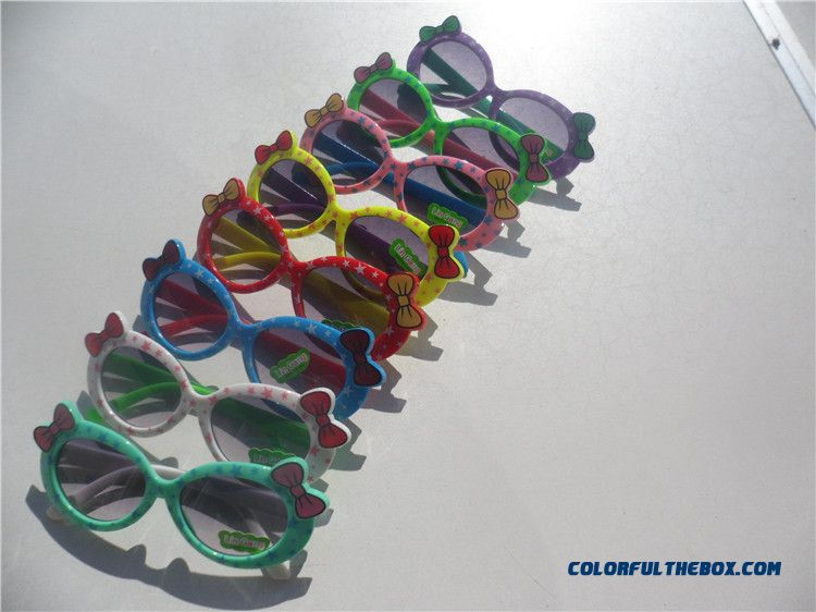 Printed Bow Kids' Sunglasses For Boys And Girls Baby Accessories Special Offer