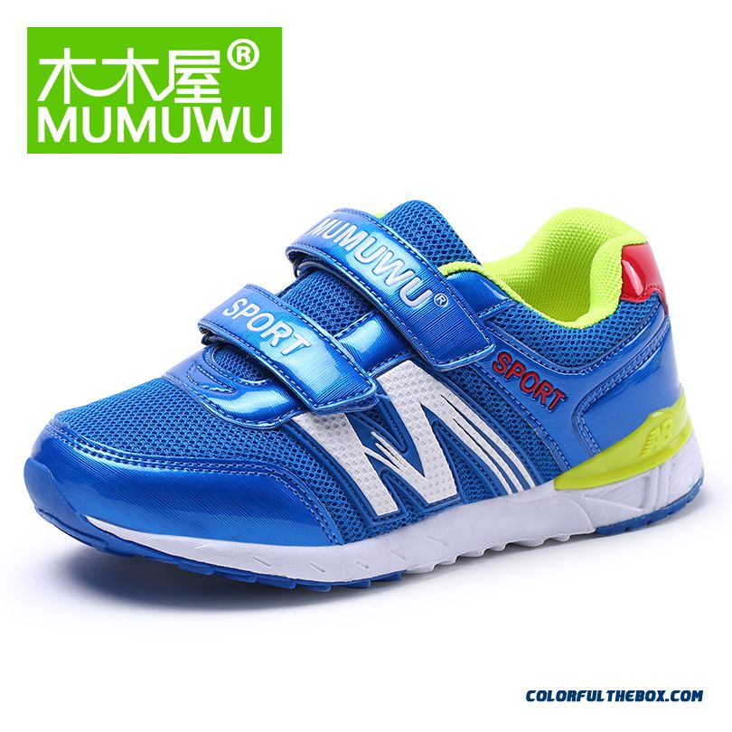 Private Label Promotion Fall New Boys And Girls Sports Shoes Breathable Big Kids Casual Shoes Net Cloth Running Shoes