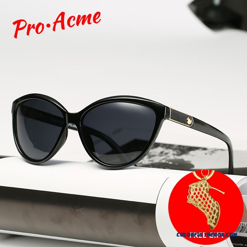 Pro Acme Retro Cat Eye Sunglasses Women Polarized Lady Elegant Sun Glasses Female Driving Eyewear Lunette Soleil Femme Pb1223