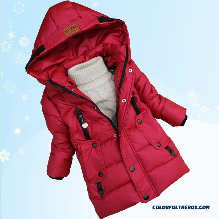 Promotion New Arrival Boys Kids Hooded Jacket Medium-long Style Free Shipping - more images 4