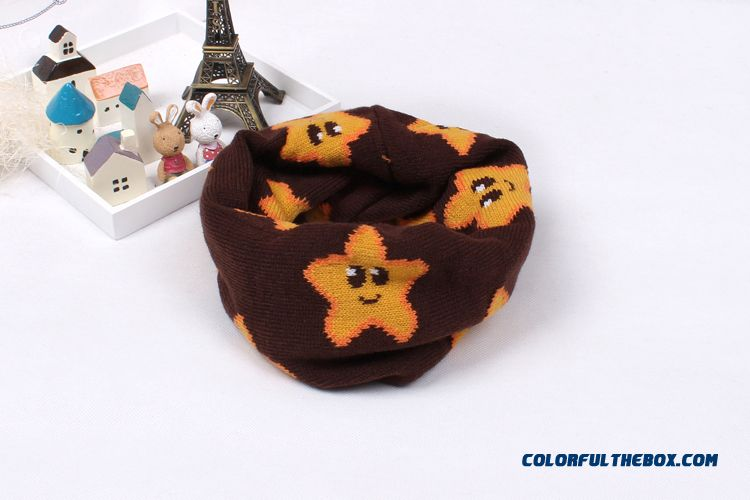 Sales Genuine 2-7years Old Unisex Babies Wool Neck Scarves Newest Kids Winter Scarves Accessories - more images 2