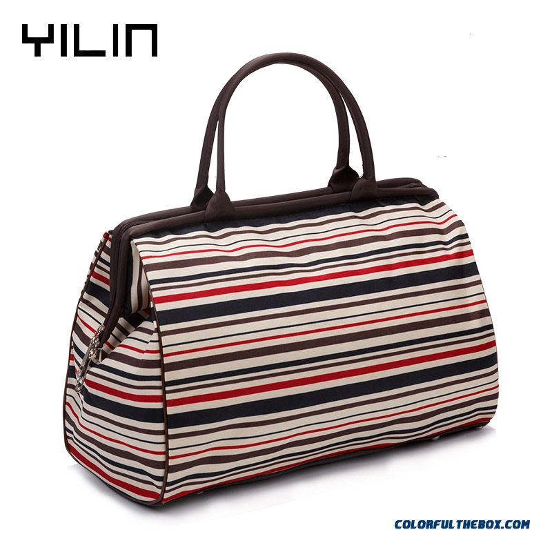 Short Distance Travel Retro Trend Handbag Special Travel Bag Design For Men