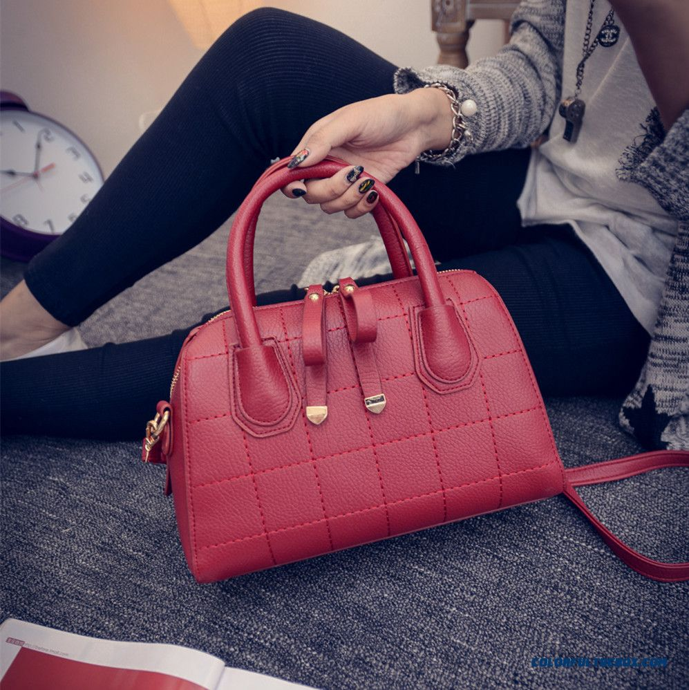 Simplicity Retro Women Bag With Double Zipper Shoulder Bags Chic - more images 1