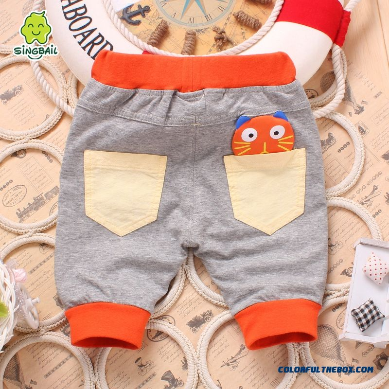 Singbail Summer Infant Baby Kids Pants Shorts Fifth Pants 1-2 Years Old Boys And Girls Unisex