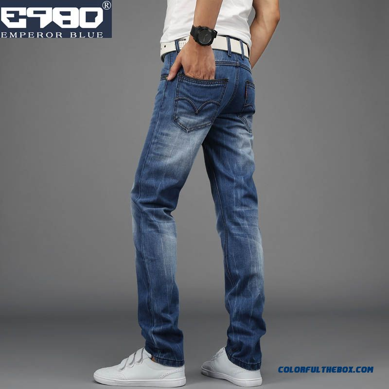 Slim Large Size Straight Jeans Long Style Winter Special Offer Sale
