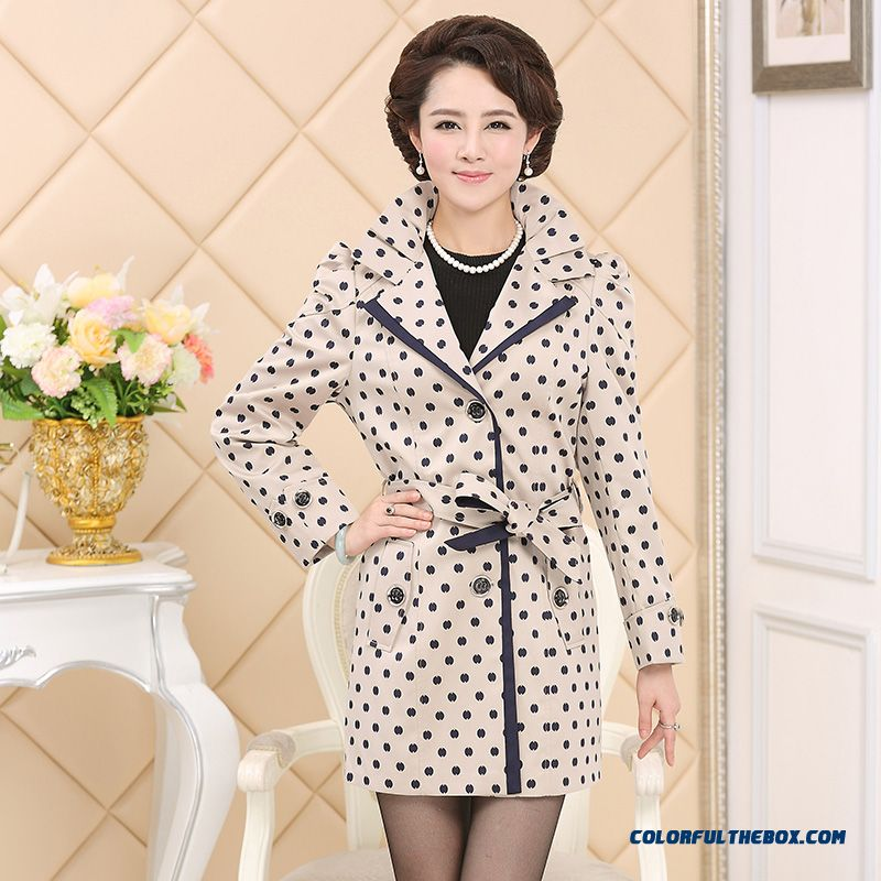 Slim Medium-long 2016 New Fashion Mother Jacket